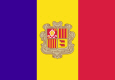 Andorra Nationalflag