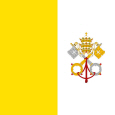Holy See National flag